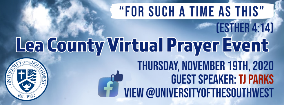 Lea County Virtual Prayer Event