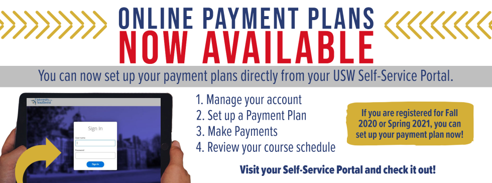 Payment Plan Banner
